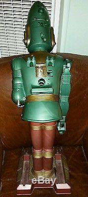Rare 1/5000 made 1963 Vintage MARX BIG LOO Friend From The Moon ROBOT 38