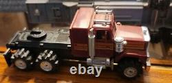 Rare Schaper Stomper Oil Co Semi Tractor Truck & Trailer Works Excellent
