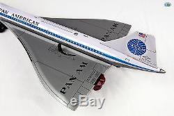 Rare Vintage Pan American Concorde Super Jet Battery Operated DAIYA Japan