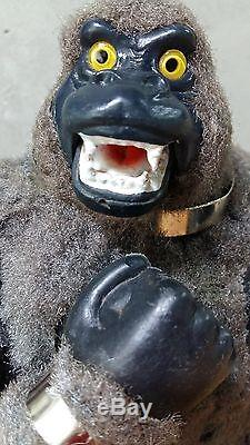 Rare vintage Japan 1960s Marx Mighty King Kong Battery-Op