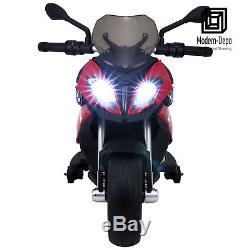 Rastar BMW Motorcycle S1000 XR Ride On Car with 12V Battery Red