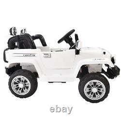 Ride On 12V Jeep Style Truck Battery Powered Toy Vehicle 2 Motor Remote Control