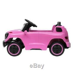 Ride On Car 6V Electric Power Kids Toy 3 Speed Music Player Light Remote Control