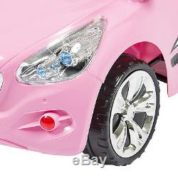 Ride on Car Kids RC Car Remote Control Electric Power Wheels With Radio & MP3 Pink
