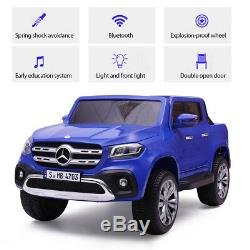 Ride on Truck Cars 12V Children's Electric Cars Motorized Benz Kids with Remote