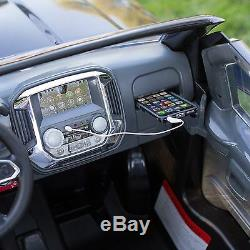Rollplay 12 Volt GMC Sierra Denali Battery Powered Ride-On Vehicle, Black, 12