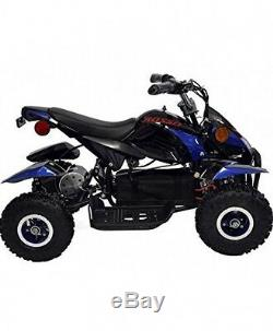 Rosso Motors 500W Kids ATV Kids Quad 4 Wheeler Ride On with 36V Electric Battery