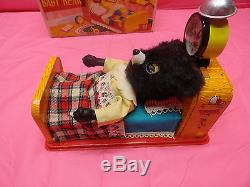 Sleeping Baby Bear Linemar Japan Mint In Box