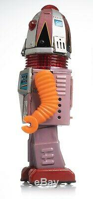 SPACE ROBOT Nomura tin toy X-70 Tulip Head battery operated Made in Japan
