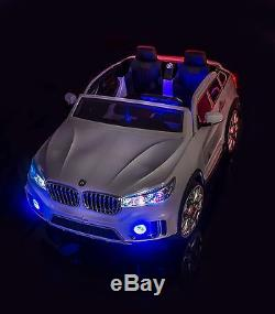 Sportrax Bmw X7 Style 2 Seater Kids Ride On Car Remote Free Mp3 Player 998w