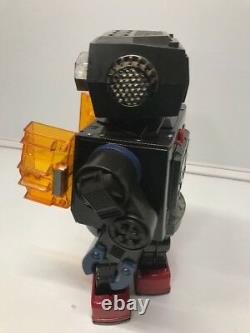 SUPER GIANT JAPANESE HORIKAWA ROBOT ROTATE O MATIC 16/ 40cm Battery Operated