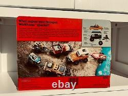 Schaper STOMPER, Datsun, still in the box, 1984. With trailer and Winch