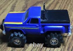 Schaper Stomper 4x4 Blue Chevy Scottsdale, Chevrolet, Side Clip
