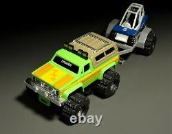 Schaper Stomper GMC Truck with Trailer and Go-Kart (Last One)