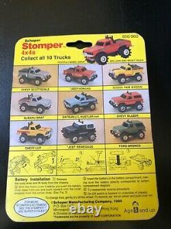 Schaper Stomper Red Chevy Blazer New In Package