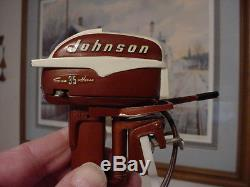 Sharp 1956 K&O Fleetline Battery Operated Toy Outboard With Box and Instructions