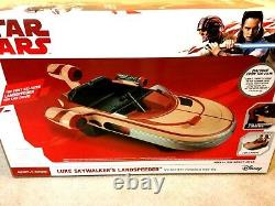 Star Wars Luke Skywalker's Landspeeder 12-Volt Ride On Radio Flyer Car Ship New