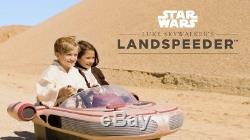 Star Wars Luke Skywalkers Landspeeder 12-volt Ride On Car (Radio Flyer)