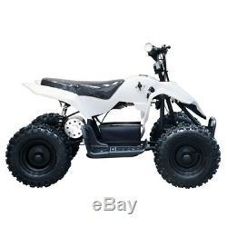 TDPR 500w 24v Electric Ride On Youth Children Mini Quad Utility kids ATV-White