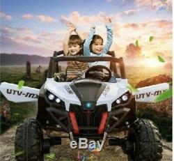 TOUCH TV RC RIDE ON 24 VOLT BUGGY UTV AGES 2-6 RAZOR POLARIS STY ATV 4x4 PINK
