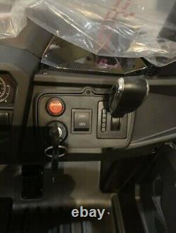 TV R/C OVER RIDE 24V 2 x SEATS R/C UTV KIDS RIDE ON CAR RAZOR METALLIC ORANGE