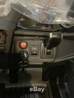 TV R/C OVER RIDE 24V 2 x SEATS R/C UTV KIDS RIDE ON CAR RAZOR METALLIC SILVER