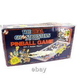 The Real Ghostbusters Battery Operated Pinball Game by Jotastar, 1986, Boxed