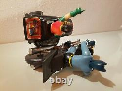 Tin Toy 1970 battery operated BATMAN AND ROBIN ON SIDECAR incomplete, see pics