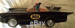 Tin toys Batman Batmobile Bandai 1966 Vintage Tin Battery Operated/ Original Box