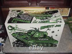 Topper Toys Deluxe Reading Mighty (Tiger) Joe Tank MIB