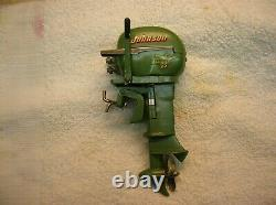 Toy Outboard Motor 1954 Johnson K&o For Toy Wood Boat Battery Operated Motor