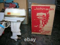 Toy Outboard Motor Johnson 40 HP Toy Fleet Line Boat Ito K&o Speed Boat