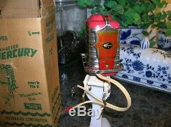 Toy Outboard Motor Mercury Mark 78 1958 K&o Rare Toy Wood Boat Battery Operate