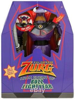 Toy Story Evil Emperor Zurg Action Figure Arch Enemy of Buzz Lightyear