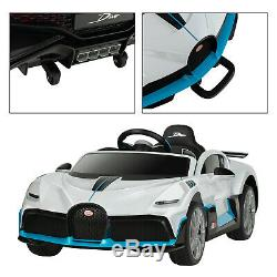 Uenjoy 12V Bugatti Divo Kids Ride On Car Electric Cars Remote Control