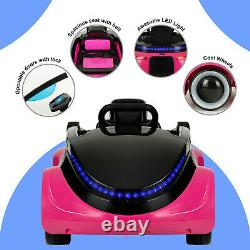 Uenjoy Electric Kids Ride On Cars with Remote Control & Flashiing Lights
