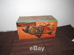 Vintage Battery Operataed Toy Hot Rod Mystery Action T. N Japan Unused In Box