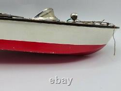 VINTAGE Fleet Line THE SEA BABE Speedboat #200 with Original Box Instructions