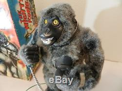 VINTAGE MARX TOY- MARX THE MIGHTY KONG- KING KONG TOY- BATT. OPERATED- WithBOX