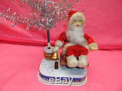 Vintage Rocking Santa Battery Operated Toy By Alps Japan