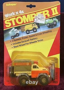 VINTAGE SCHAPER STOMPER ll UHAUL TRUCK SEALED! DREAM FIND! #763