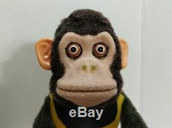(VTG) Daishin Japan Battery Operated Toy Story monkey Musical Jolly Chimp & box