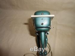 Vintage 1957 Gale Buccaneer 25 H. P. Battery Operated K+O Toy Outboard Motor