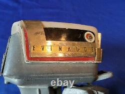 Vintage 1958 Evinrude Starflite Fat Fifty K&O Toy Outboard Motor Works