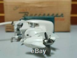 Vintage 1958 K&O Buccaneer 25HP Toy Outboard Motor MINT VERY RARE