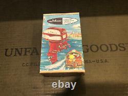 Vintage 1958 K&O Johnson Sea Horse Toy Outboard Motor Model Boat