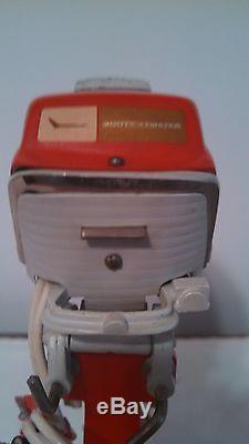 Vintage 1958 Scott Atwater Rare Toy Battery Operated Boat Motor 40 HP Near Mint