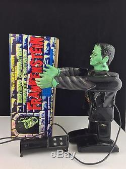 Vintage 1960 Marx Frankenstein 13 Battery Operated Remote Tin Litho Rare