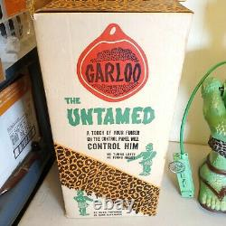 Vintage 1960's Marx The Great Garloo Remote Control Toy Robot Battery Powered