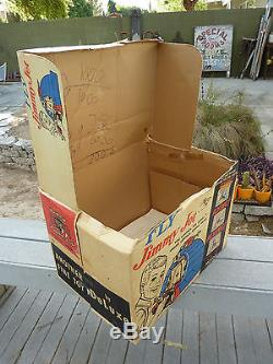 Vintage 1960's Reading Deluxe Jimmy TV Jet Flight Simulator with Box Working